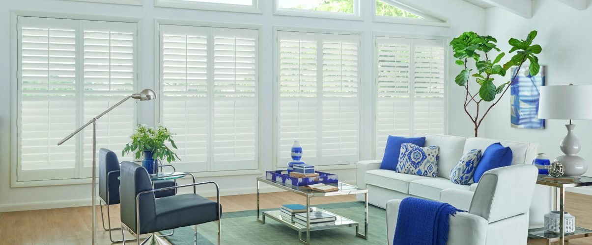 Showing Graber shutter blinds in Erie, co